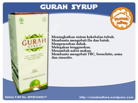 Gurah Syrup Hanifah