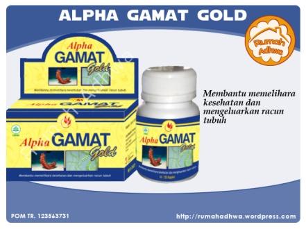 Alpha Gamat Gold